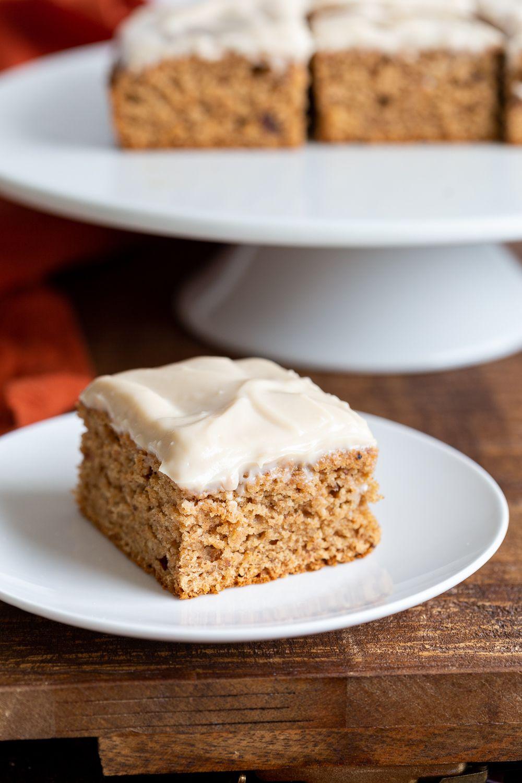 Vegan Spice Cake With Cream Cheese Frosting Recipe Vegan Cream