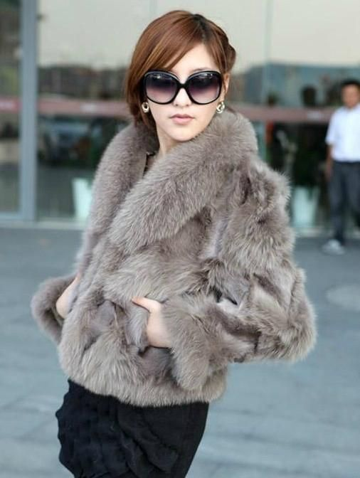 Images of Womens Fur Coat - Reikian