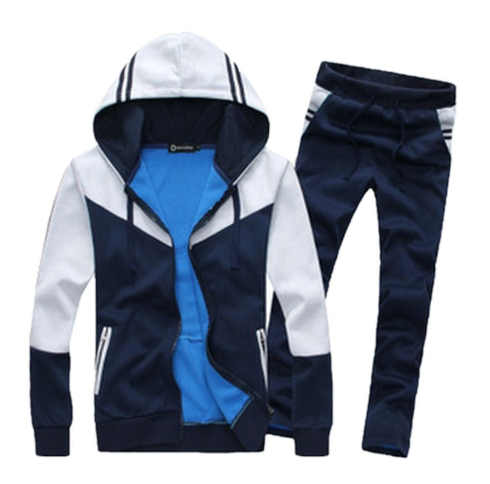 876e55c0ef5a Classic Fashion Mens Unisex Gym Sports Exercise Running Clothing Set Ropa  Deportiva, Deportes, Hombres