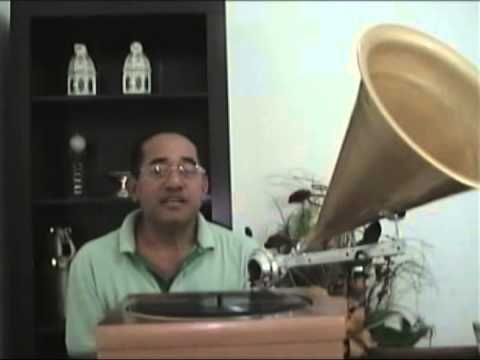 Gramofone artesanal