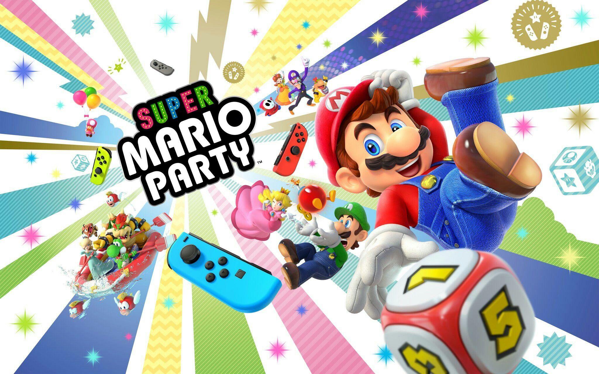 Pin By Lemmy Koopa Jr On Nintendo Super Mario Party Mario Party Games Mario Party