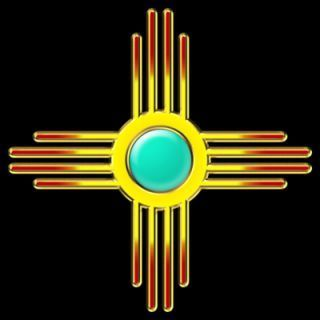 1000 Images About Zia Sun Symbol On Pinterest New Mexico Flag New Mexico Santa Fe New Mexico Mexico Tattoo
