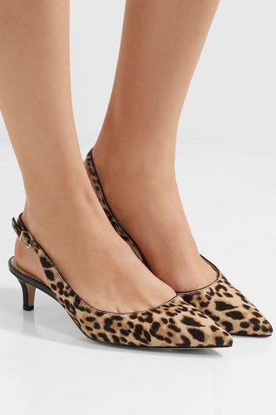 ef434f7a5df9 Sam Edelman Karen Leopard Print Calf Hair Ankle Boots - Best Leopard ...