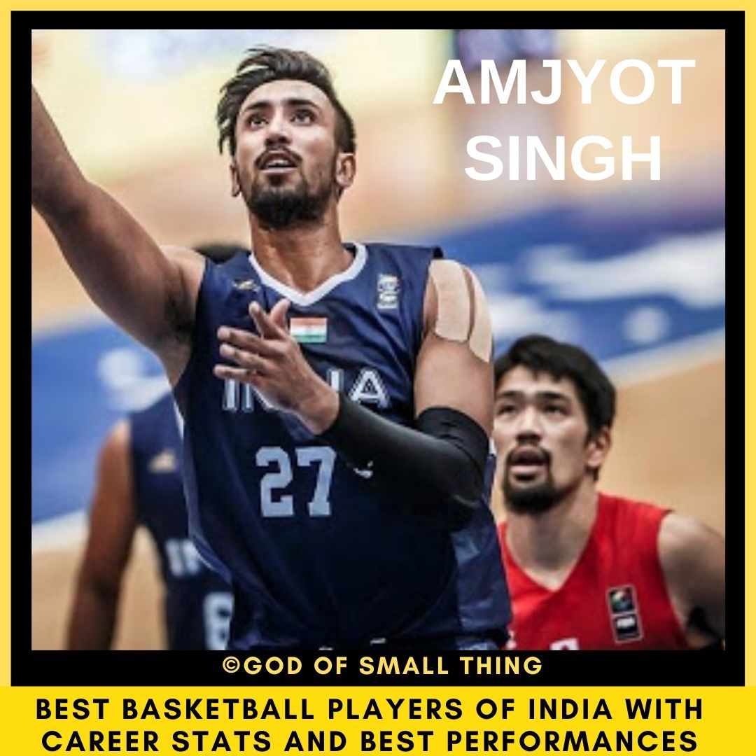 Best Basketball Players Of India Amjyot Singh In 2020 Basketball Players Players Basketball