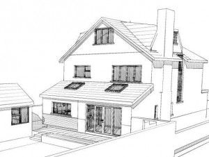 Planning permission conservatory front house