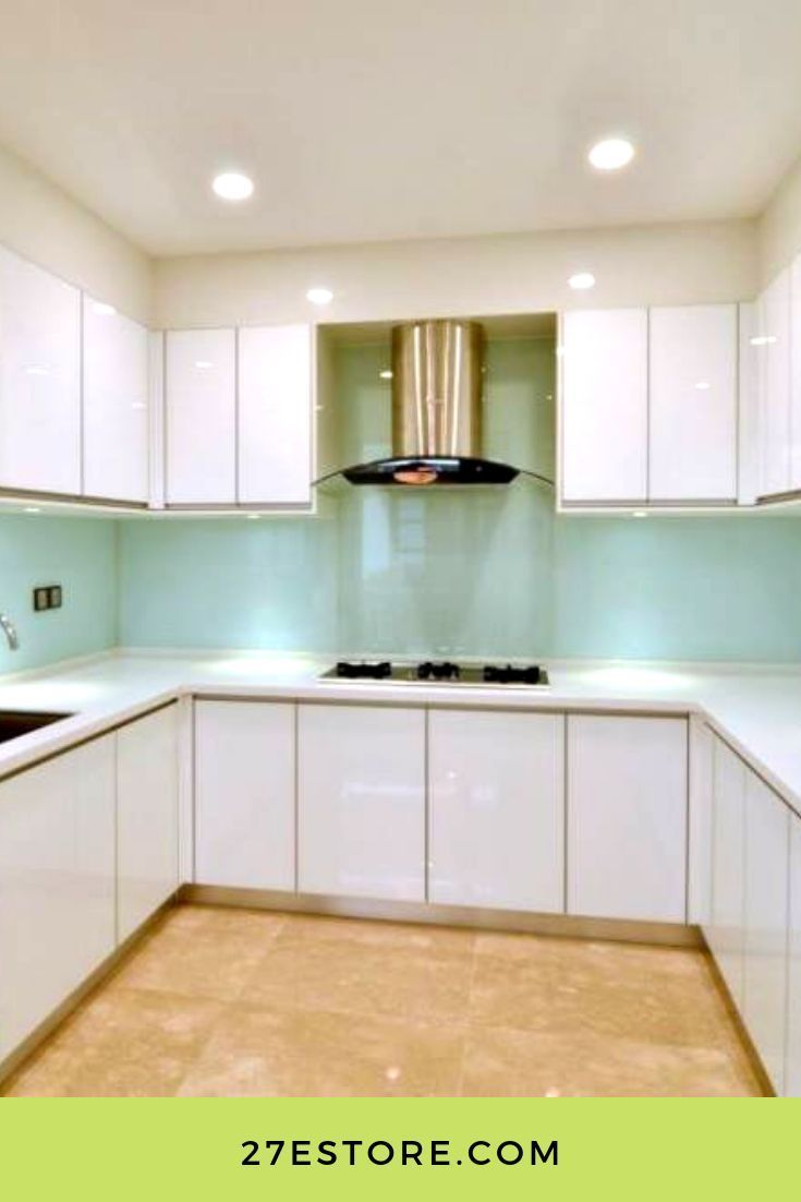 Best High Gloss White Cabinet Doors Rustic Kitchen Design 400 x 300