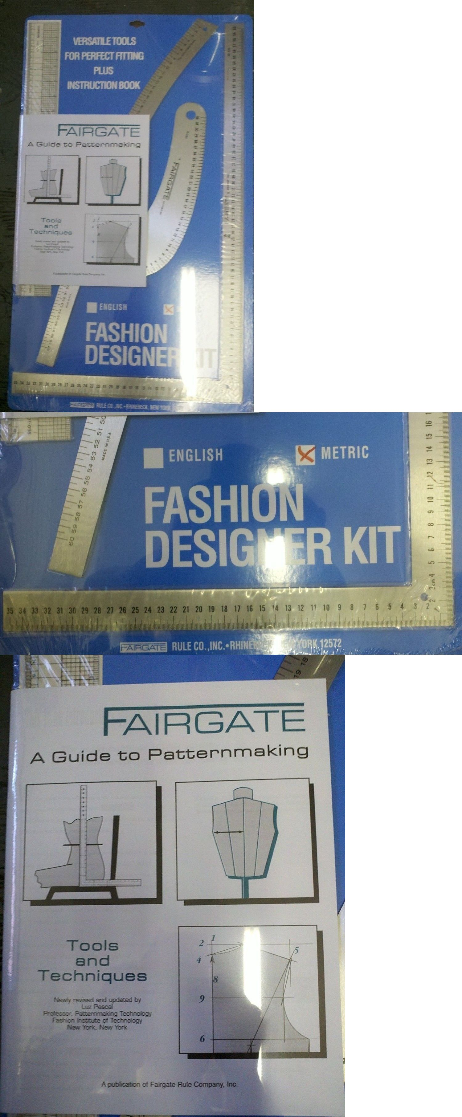 Fairgate Fashion Designer Rule Kit In Cm By Fairgate 15 202 Sewing Tools Arts Crafts Sewing