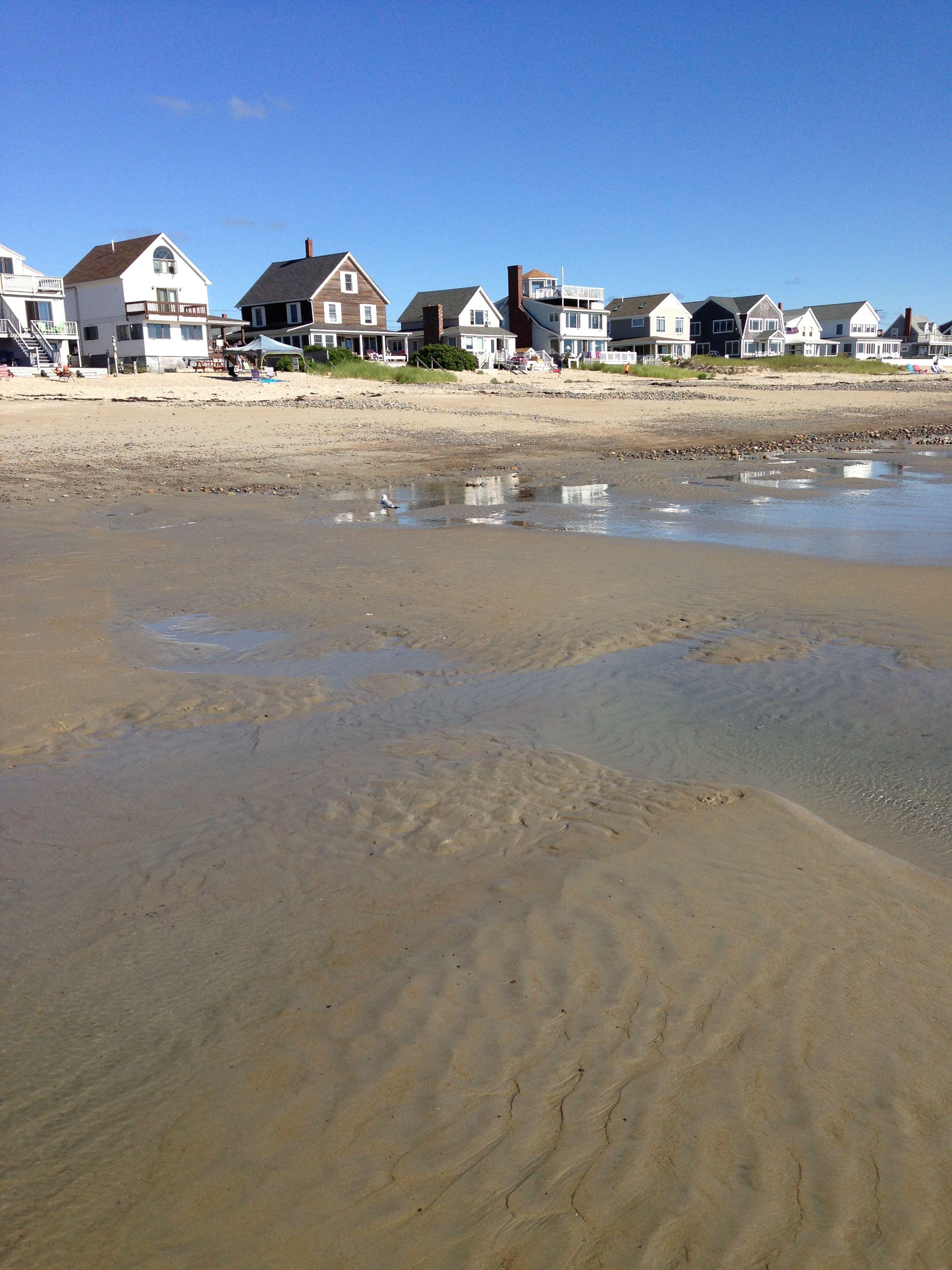 Wells beach Maine  silkiest sand Ive ever walked on