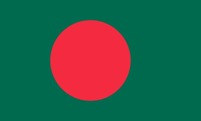Flag of Bangladesh:   This is the national flag of Bangladesh, a country in Southern Asia. Want to learn more? Check out these Bangladesh maps.