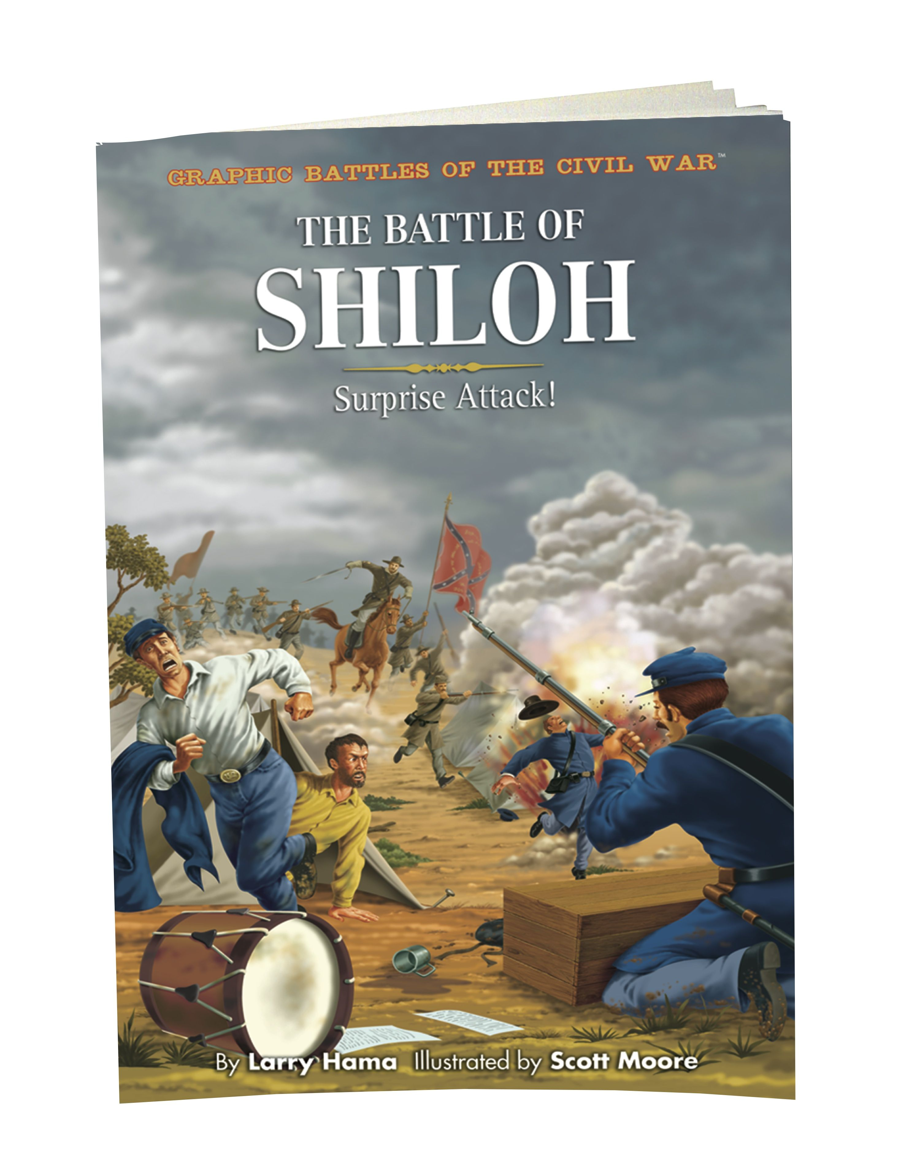 Graphic battles shilo explore history with meticulously