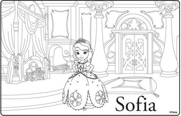 Princesa Sofía para colorear | ParA CoLOrEaRrrrrrrrrr | Pinterest ...