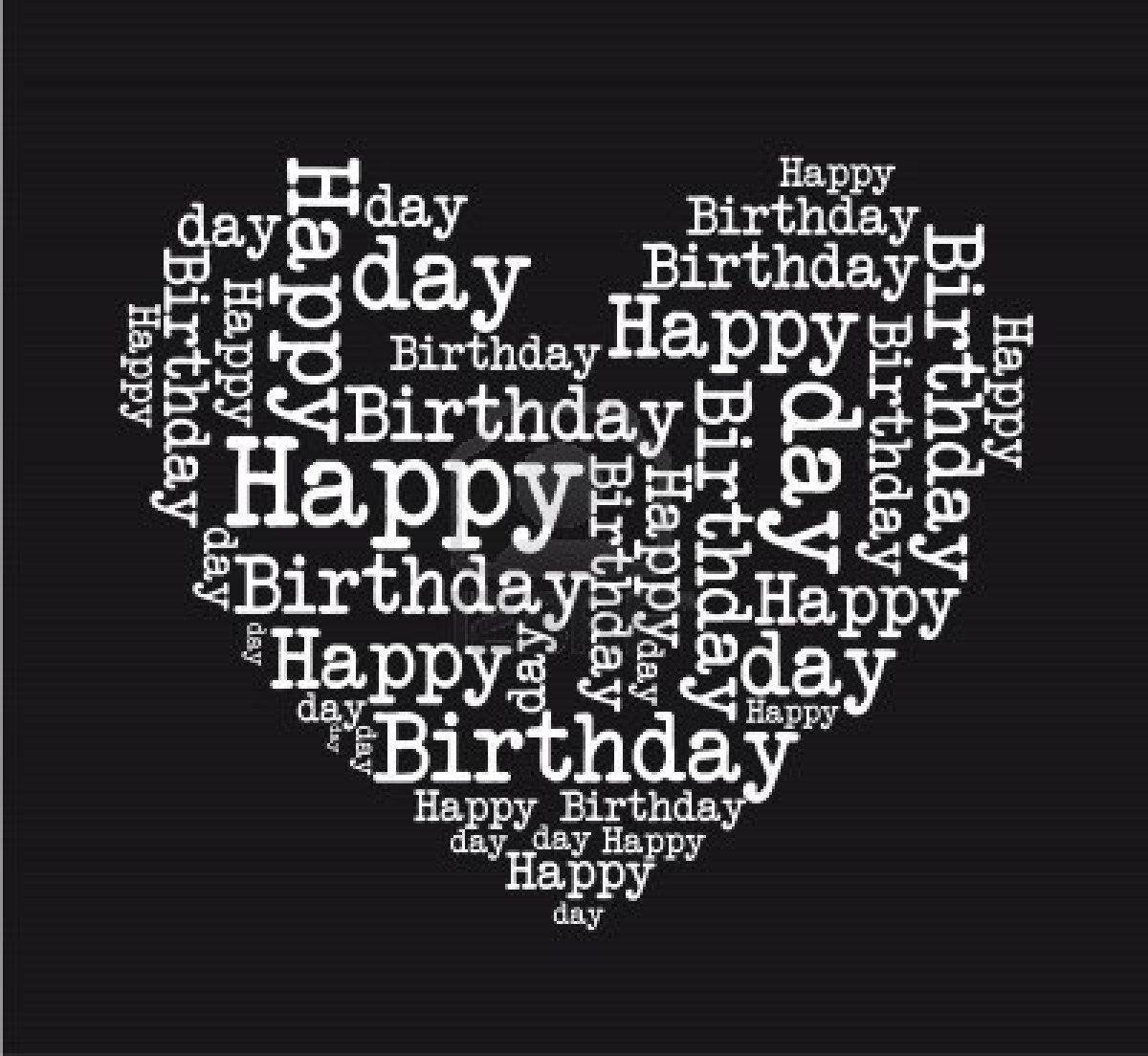 Stock Vector | Happy birthday hearts, Happy birthday ...