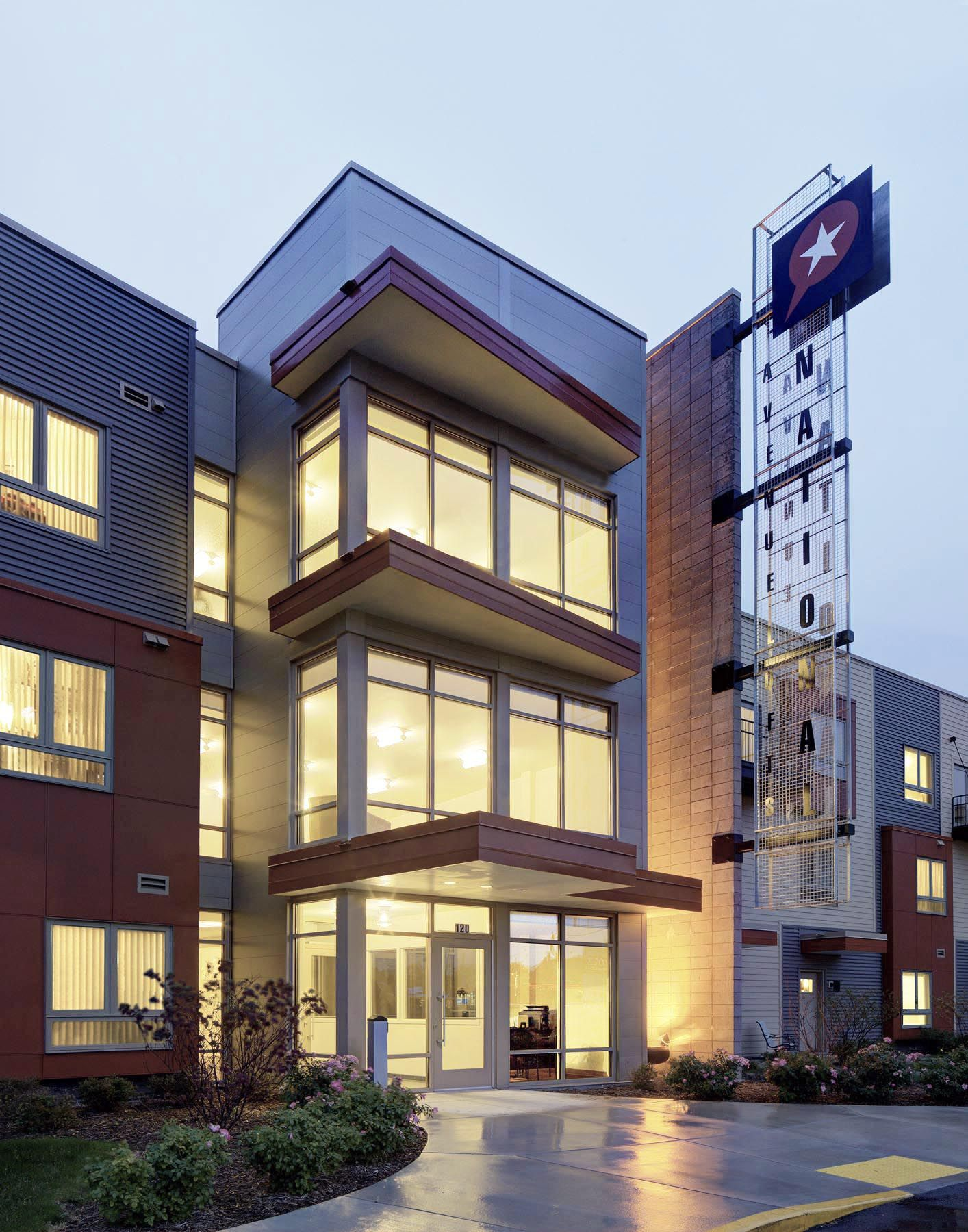 National Avenue Lofts Continuum Architects + Planners S