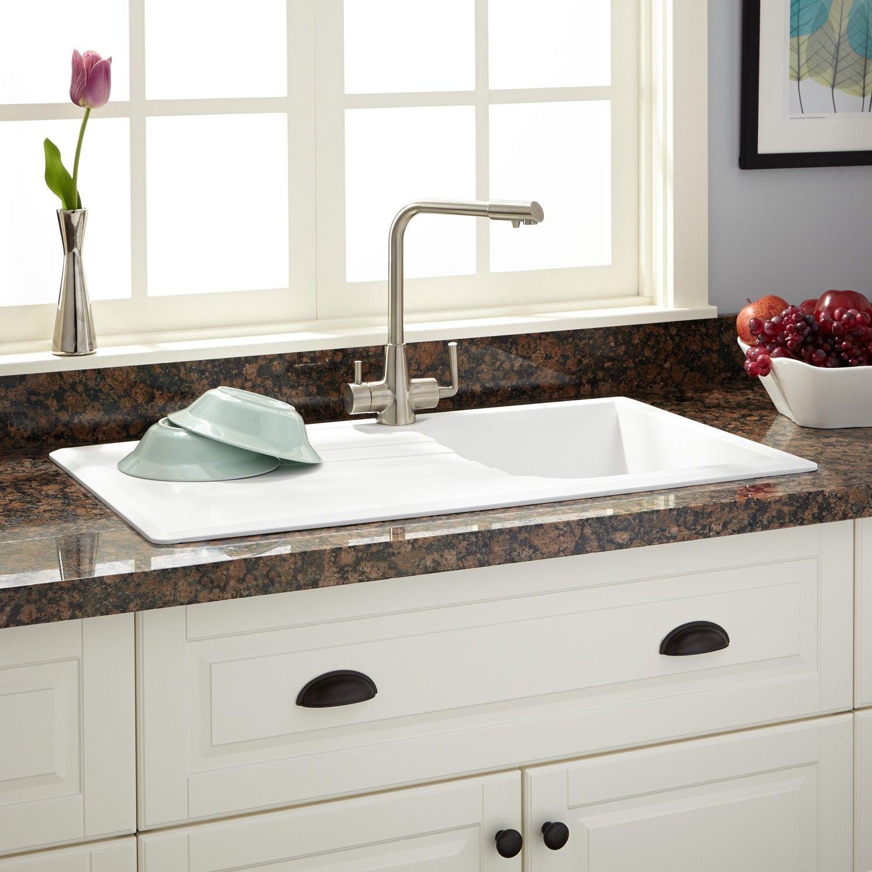 white kitchen sink with drainboard. 34\ White Kitchen Sink With Drainboard \