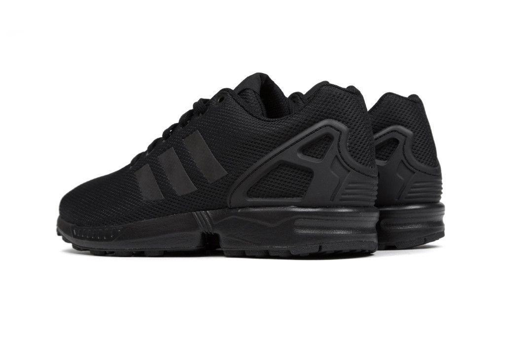 adidas originali zx flusso nero / scarpe nere e scarpe pinterest