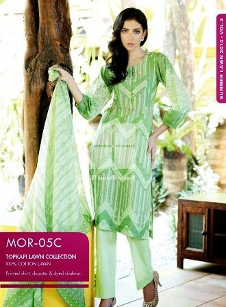 Moroccan by Gul Ahmed Lawn Collection 2014 Volume 2 (5)