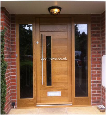 contemporary front doors | New House Design | Pinterest ...