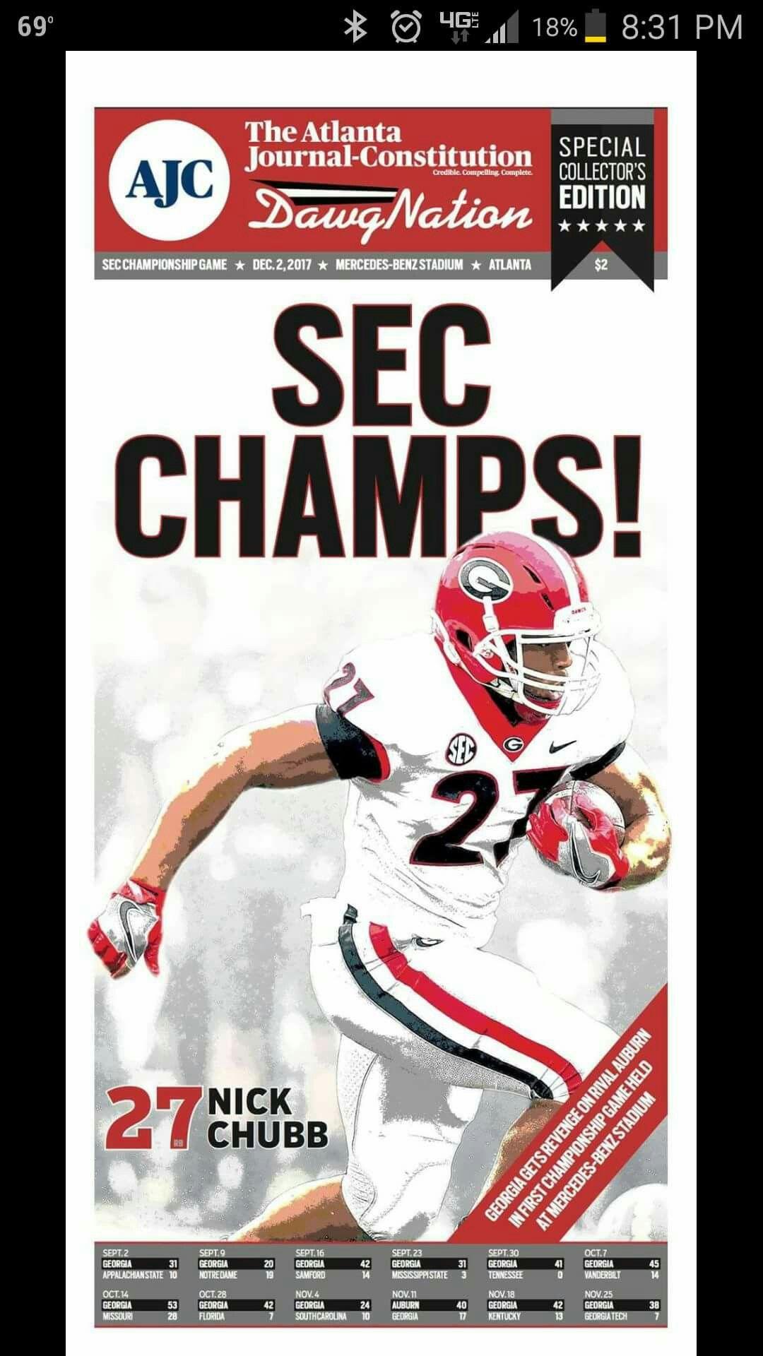 We did it!! bulldogs football