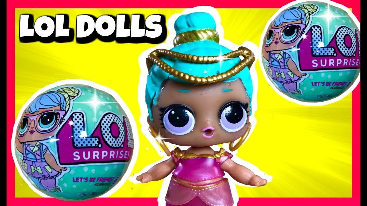 d78d177724a LOL Surprise Dolls Season 2 Genie LOL Doll - YouTube