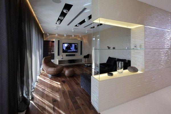 glas regale modern raumteiler ideen wohnzimmer | küche | pinterest ... - Wohnzimmer Regal Modern