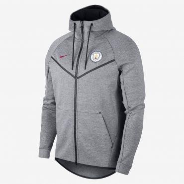 beb23a7b1 Nike Manchester City FC Tech Fleece Windrunner Jacket | Superfanas ...