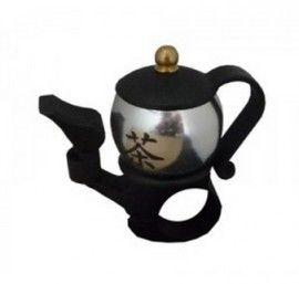 Fiets Belll Teapot Silver | Hibbie Fiets Accessoires | HIBBIES.COM