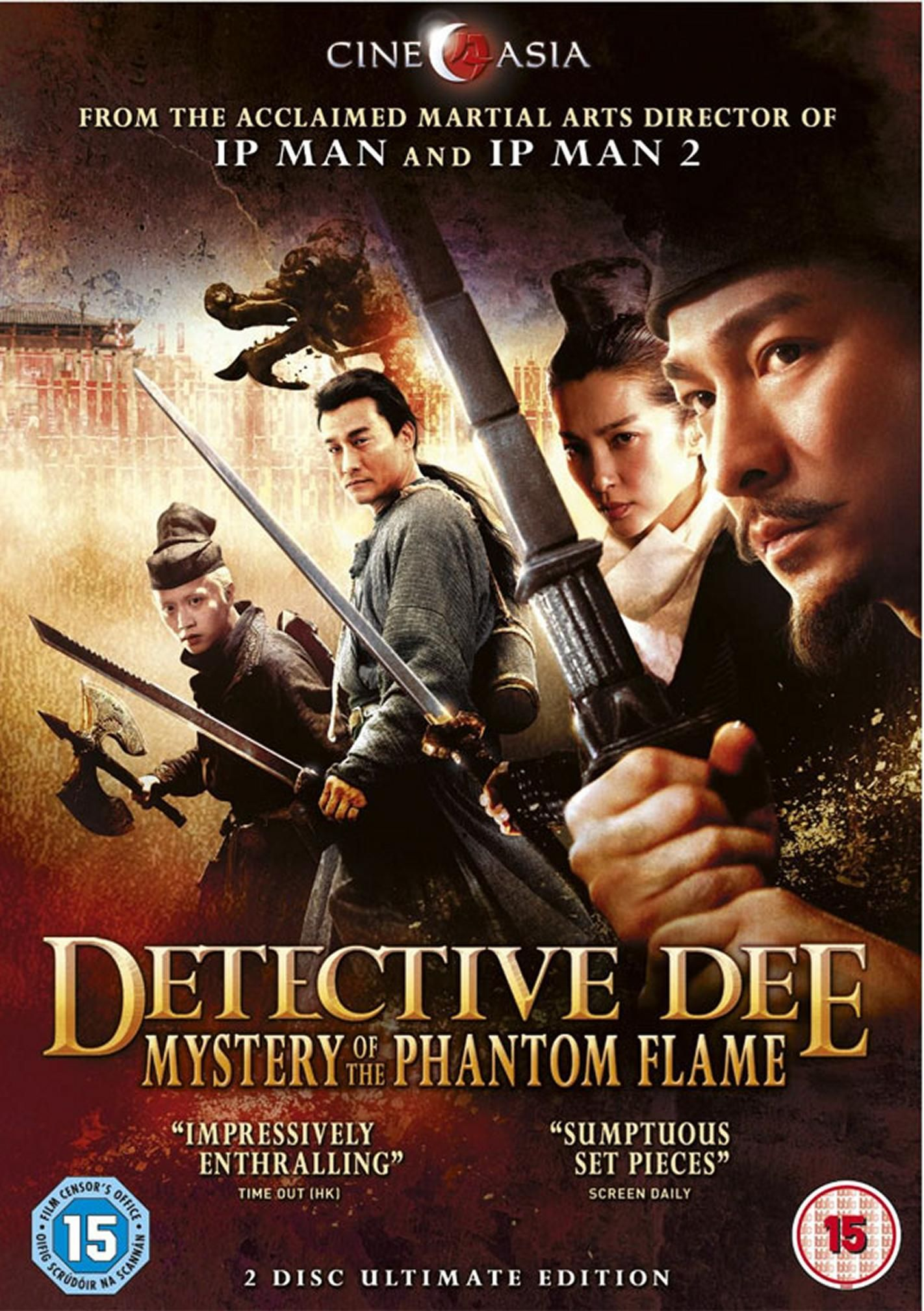 """detective-dee-and-the-mystery-of-the-phantom-flame.  """"Inspired by the incredible true story of one of the T'ang Dynasty's most celebrated officials."""" Wu Zetian is the most powerful woman in China, and about to be crowned Empress of China, but a series of bizarre murders at the Imperial Palace threatens the future of her dynasty. She implores formerly-exiled detective Dee Renjie to solve the crime before her coronation, and appoints him Chief Judge of the Empire."""