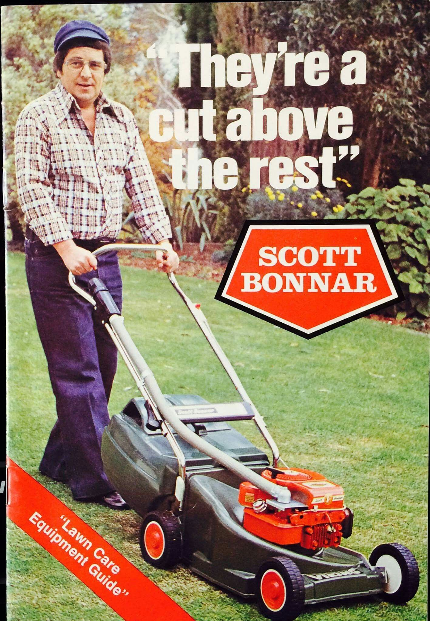 Ernie Sigley On The Cover Of Scott Bonnar Mowers Guide Early 70 S In 2020 Pergola Pictures Pergola Designs Wooden Pergola