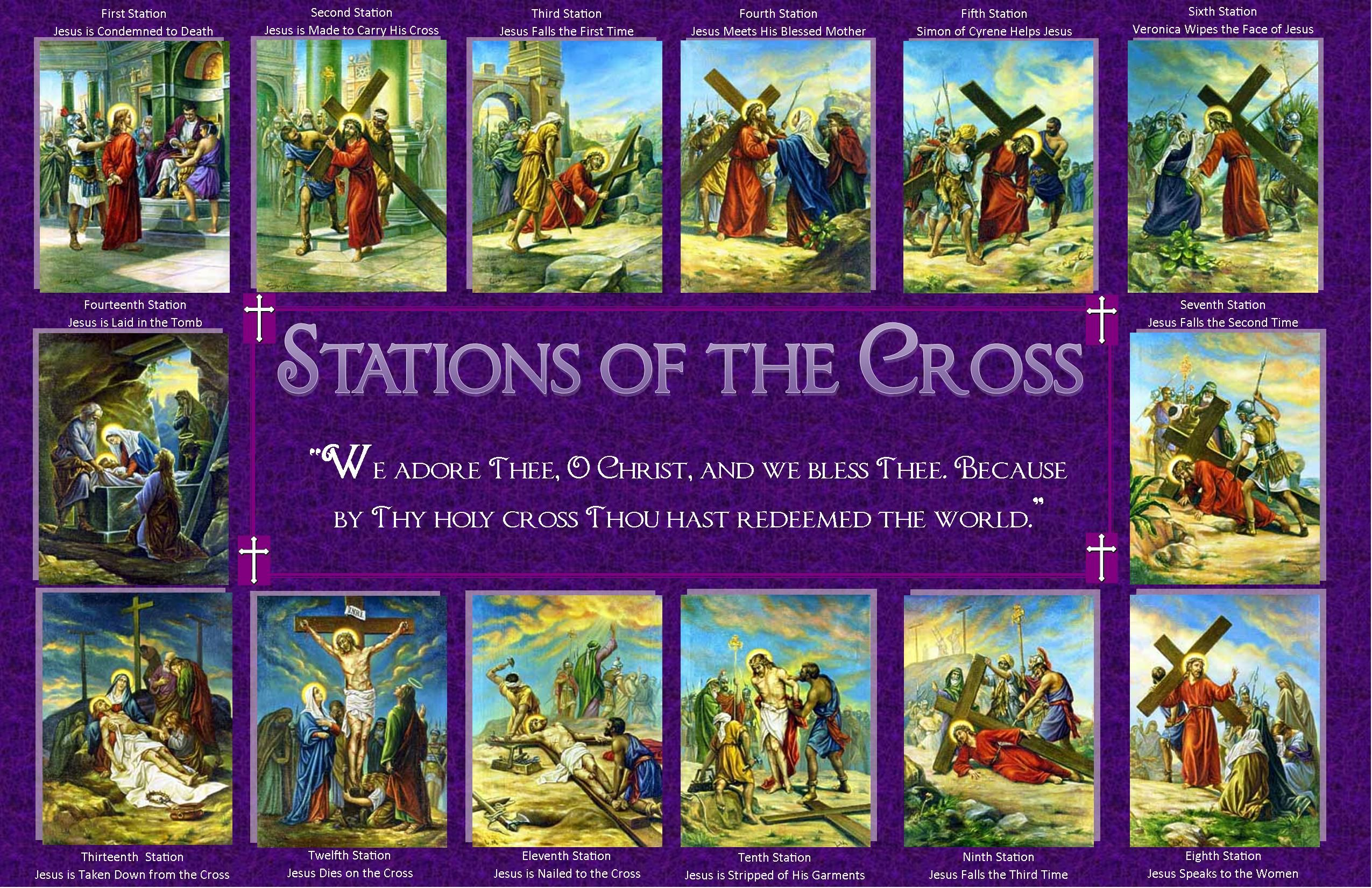 It is an image of Impeccable Printable Stations of the Cross