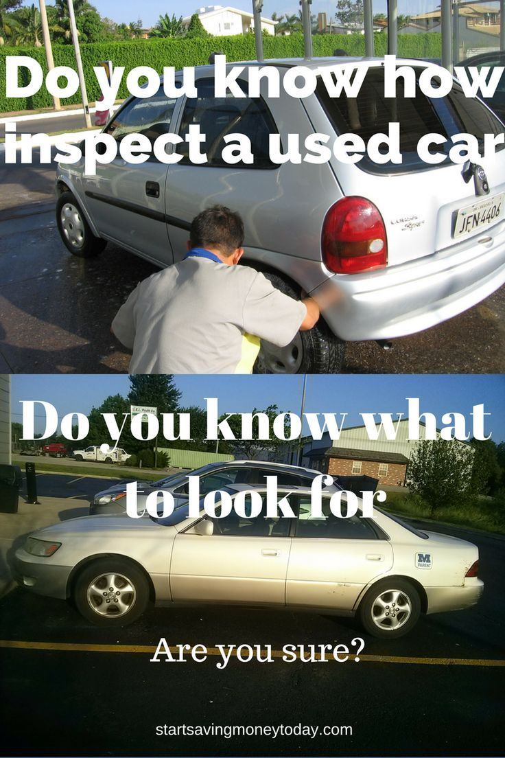 Used car inspection what to look for Car shop, Used cars