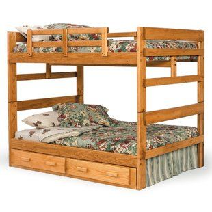 Online Shopping Top Rated Full Over Full Bunk Bed With Storage By