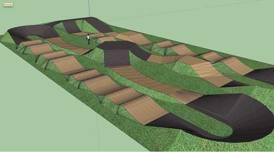 """Résultat de recherche d'images pour """"pump track layout ..."""