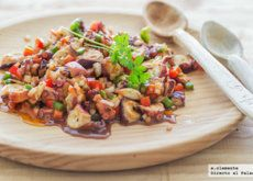 Ensalada de pulpo y aguacate: receta para una cena rica en proteínas y grasas saludables
