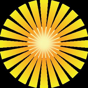 Golden Solar Rays Clip Art Sun Rays Tattoo Ray Tattoo Sun Rays
