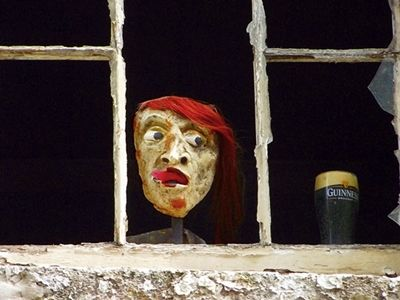 Strret Art -  Guiness Factory - Dublin, Ireland