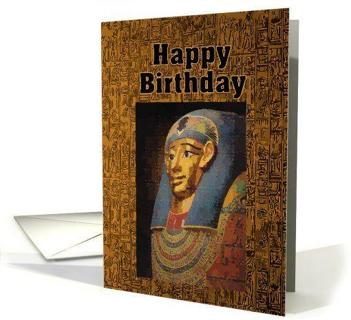 Pharaoh Happy Birthday Humor Card Greeting Card Bestsellers