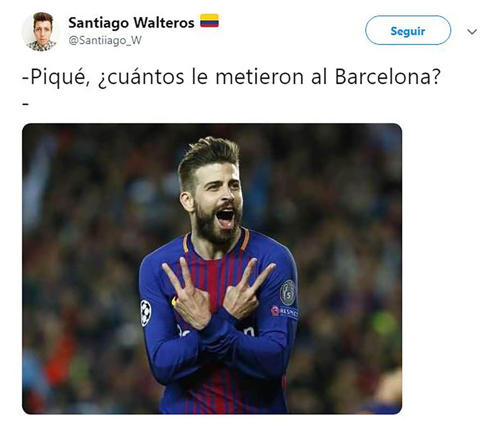 Con Lionel Messi Como Blanco De Burlas Los Mejores Memes De La Historica Eliminacion Del Barcelona Ante Liverpool Lionel Messi Mejores Memes Liverpool