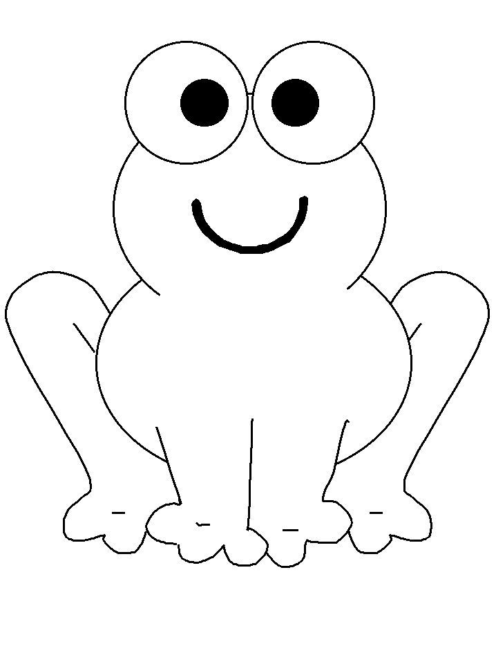 Frogs 19 Animals Coloring Pages & Coloring Book | Sapito, Cosas de ...