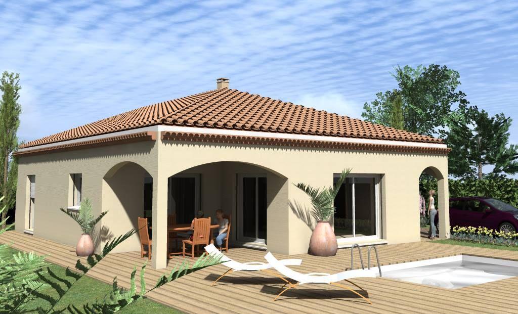 Exemple de maison à personnaliser Créavilla Perspectives Créavilla - exemple de facade de maison