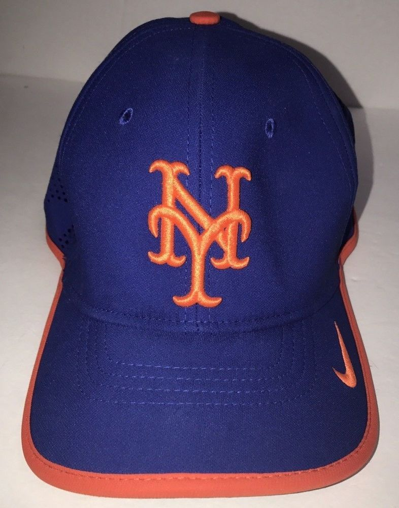NIKE Womens Classic99 Dri-Fit NEW YORK METS HAT mesh Blue cap  fashion   52e05976a5