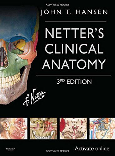 Netter's Clinical Anatomy: with Online Access, 3e (Netter Basic Science)