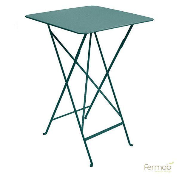 Brilliant Fermob Bistro High Folding Table 28 X 28 Table Patio Ibusinesslaw Wood Chair Design Ideas Ibusinesslaworg