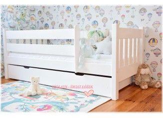 łóżka Dla Dzieci Chłopców I Dziewczynek Białe Drewniane Z