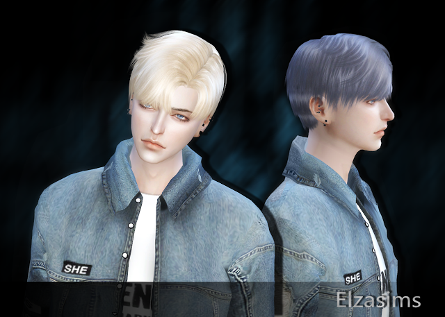 Sims 4 Ccs The Best Male Hair By Elzasims Sims 4 Ccs The