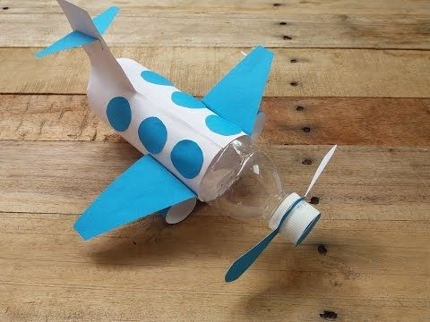 How to make airplane from Bottle |Cara Membuat Pes