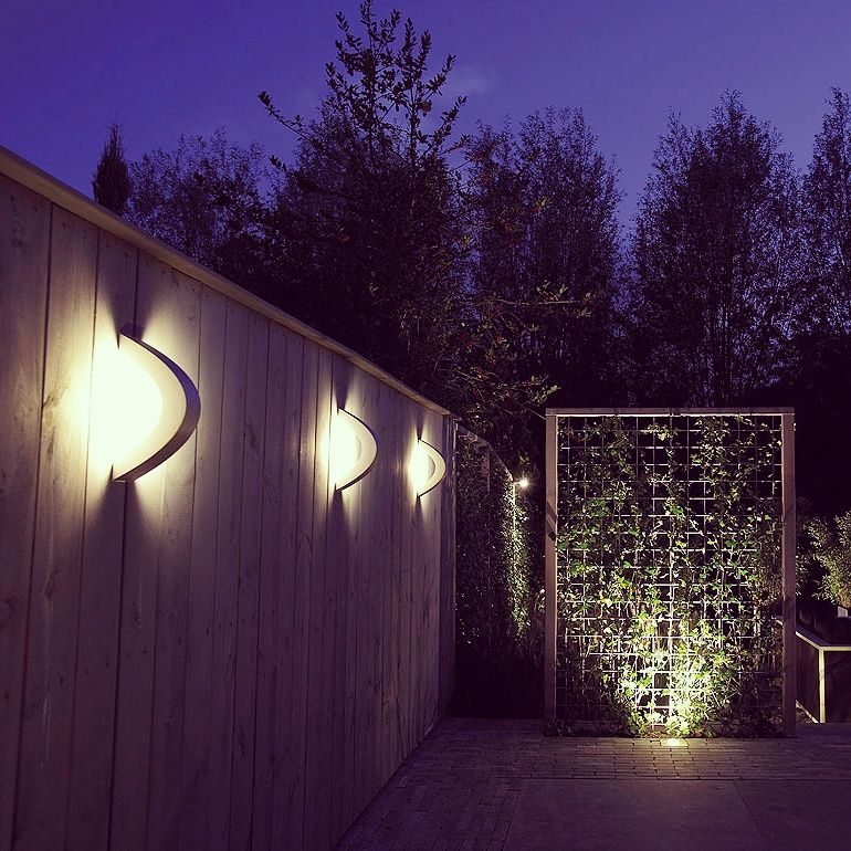 Light Up Your Yard With In Lite Products Available At Www Nationaldecking Com Wall Garden Outdoor Walls Deck Lighting