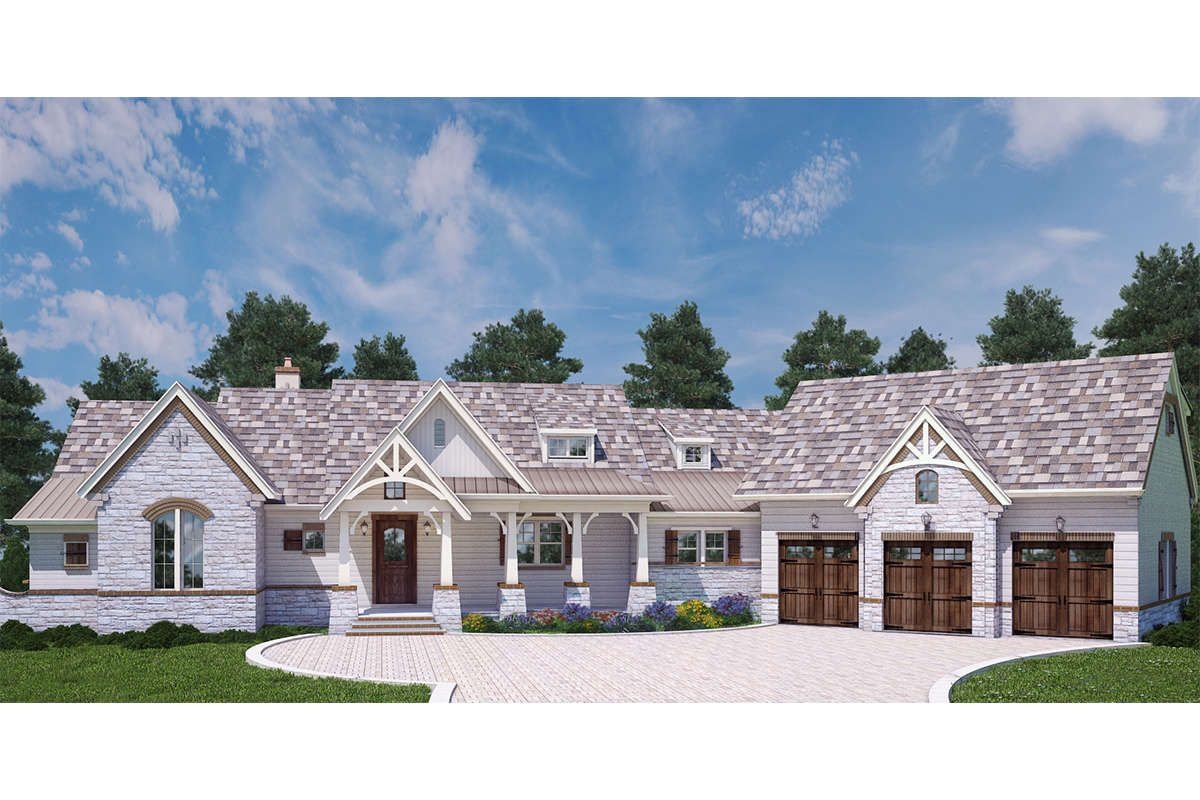 House Plan 4195 00009 Craftsman Plan 2 531 Square Feet 3 Bedrooms 3 5 Bathrooms Craftsman House Modern Farmhouse Plans Craftsman House Plans
