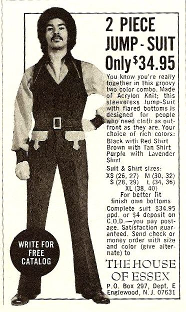 vintage everyday: Fashion Ads from Ebony Magazine from the 1970s