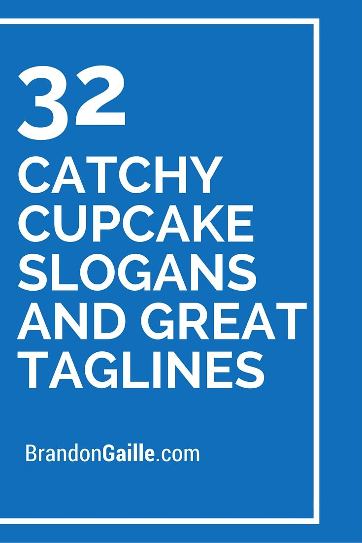 32 Catchy Cupcake Slogans And Great Taglines