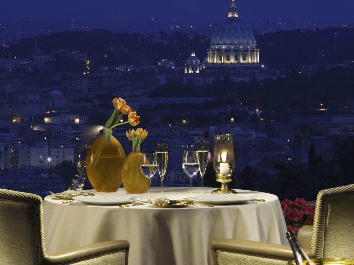La Pergola il ristorante d'eccellenza a Roma Ristorante